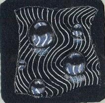 blue dewdrops