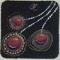 three red gems